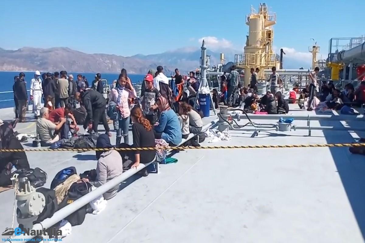 Διάσωση 150 μεταναστών από δεξαμενόπλοιο της Capital του Β. Μαρινάκη - e-Nautilia.gr   Το Ελληνικό Portal για την Ναυτιλία. Τελευταία νέα, άρθρα, Οπτικοακουστικό Υλικό