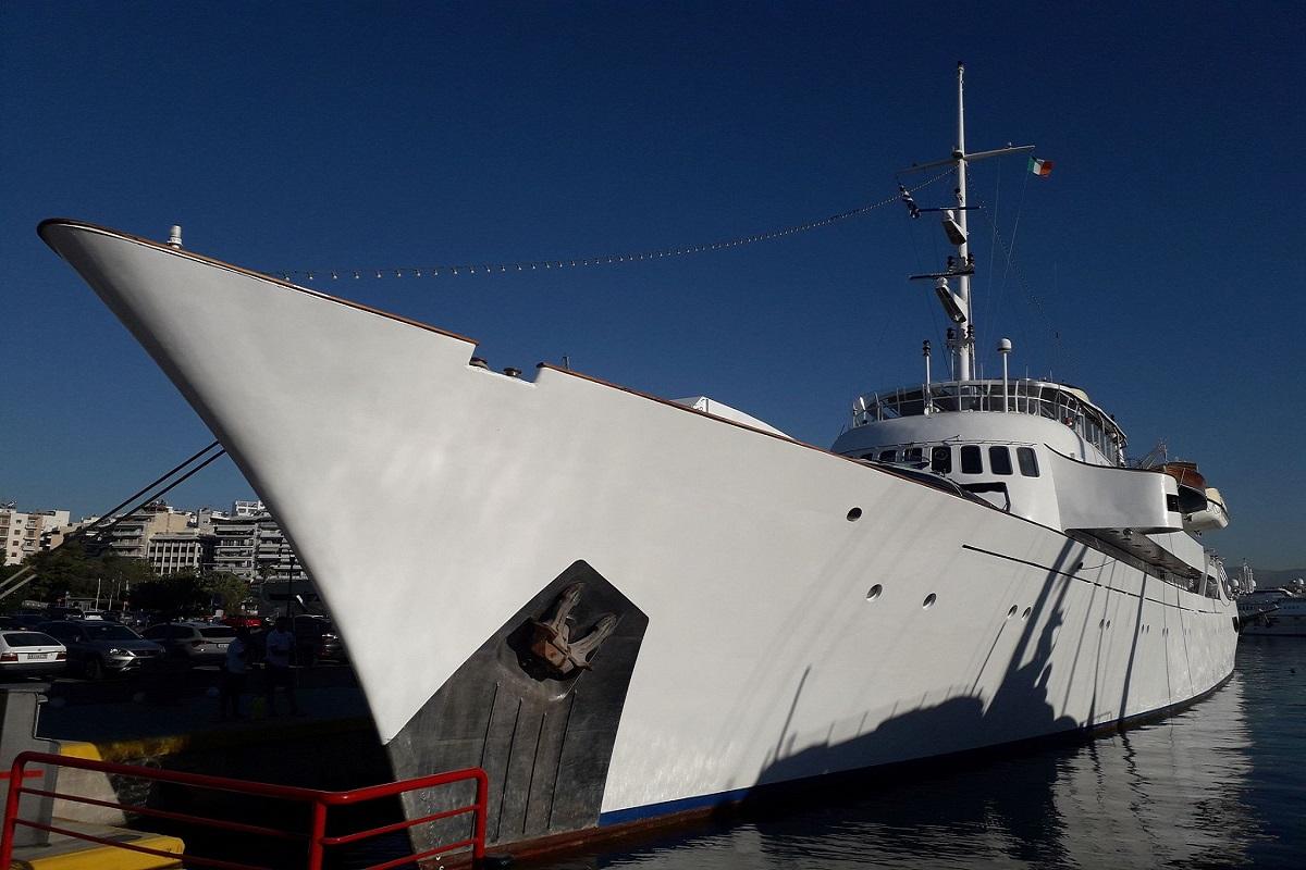 Στη Μαρίνα Ζέας η ιστορική θαλαμηγός Christina O - e-Nautilia.gr | Το Ελληνικό Portal για την Ναυτιλία. Τελευταία νέα, άρθρα, Οπτικοακουστικό Υλικό