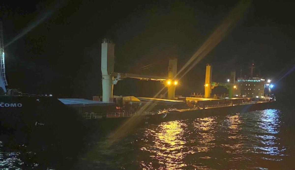 Δείτε φωτογραφίες του Δανέζικου φορτηγού πλοίου που συγκρούστηκε με το Ελληνόκτητο φορτηγό στο Αιγαίο - e-Nautilia.gr | Το Ελληνικό Portal για την Ναυτιλία. Τελευταία νέα, άρθρα, Οπτικοακουστικό Υλικό