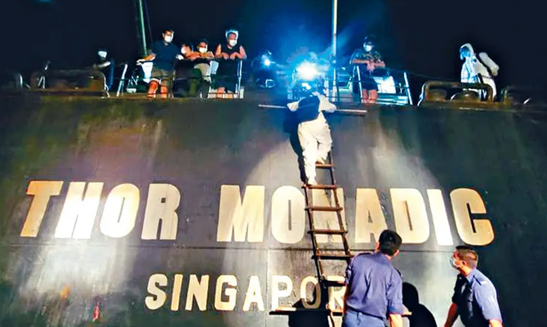 Σύλληψη καπετάνιου φορτηγού πλοίου για απόκρυψη ασθένειας μελών του πληρώματος