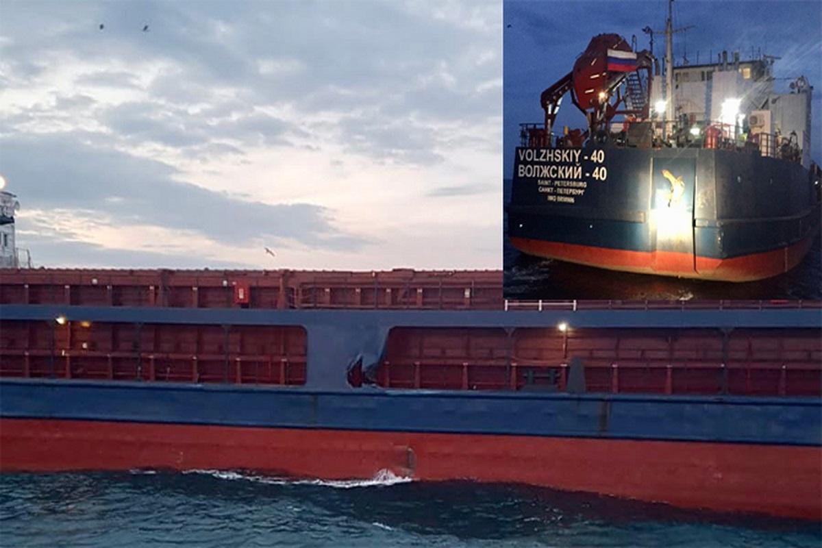 Νέα σύγκρουση Ρώσικου πλοίου στο Βόσπορο - e-Nautilia.gr | Το Ελληνικό Portal για την Ναυτιλία. Τελευταία νέα, άρθρα, Οπτικοακουστικό Υλικό