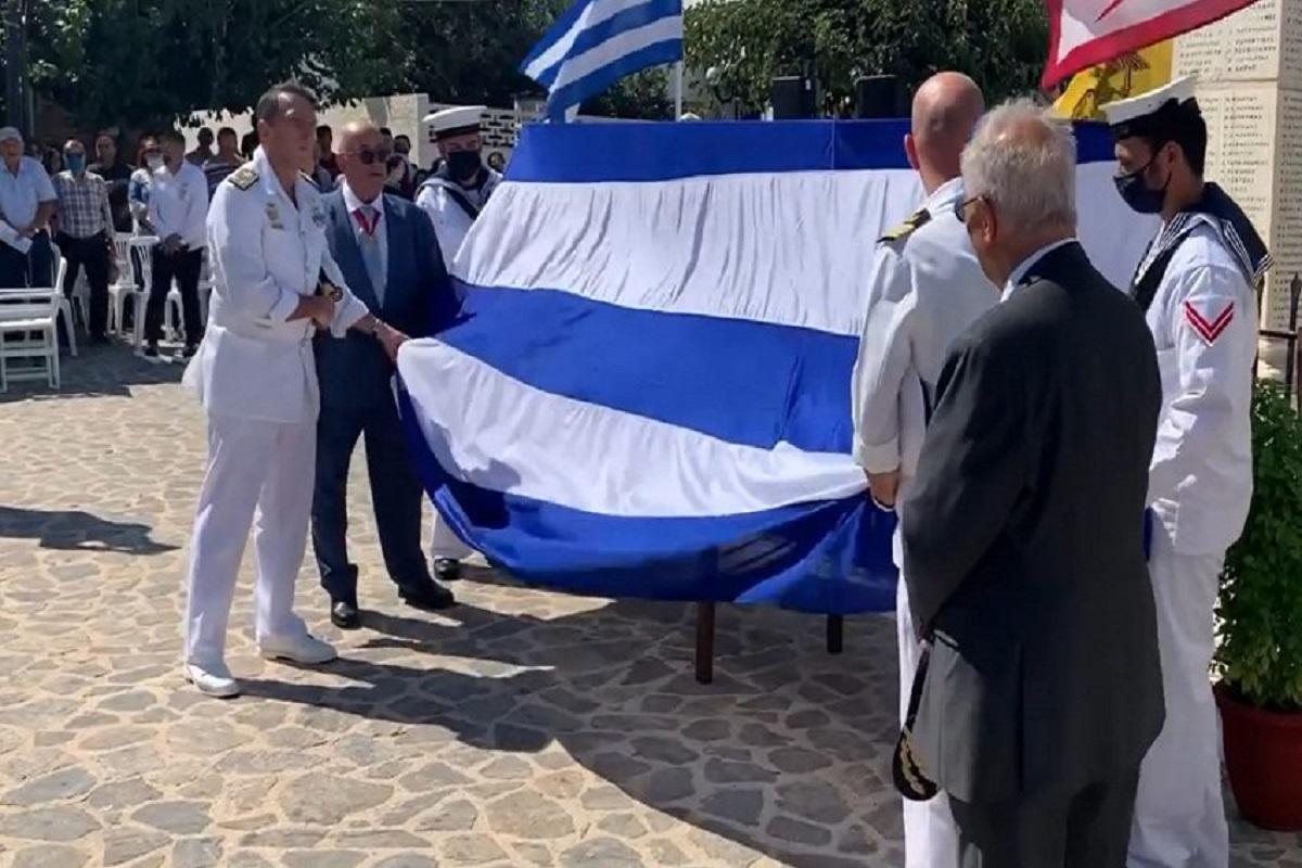 Το προσκύνημα ενός πραγματικού καπετάνιου στα ηρωικά Ψαρά - e-Nautilia.gr | Το Ελληνικό Portal για την Ναυτιλία. Τελευταία νέα, άρθρα, Οπτικοακουστικό Υλικό