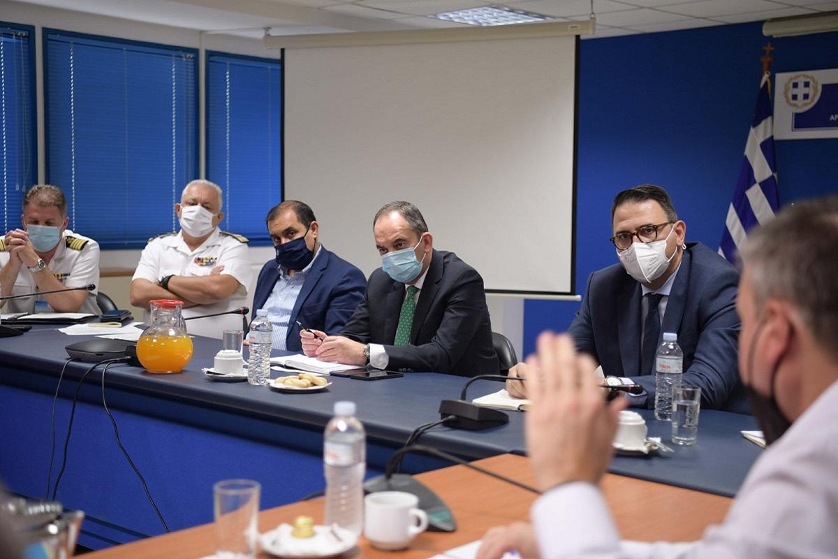 Συνάντηση ΥΝΑΝΠ κ. Γ. Πλακιωτάκη με τη νέα ηγεσία της ΠΝΟ - e-Nautilia.gr   Το Ελληνικό Portal για την Ναυτιλία. Τελευταία νέα, άρθρα, Οπτικοακουστικό Υλικό