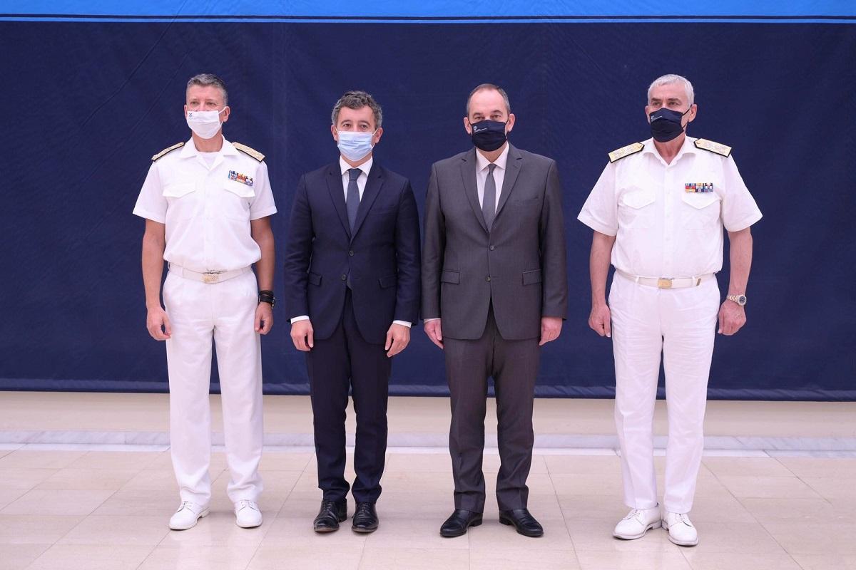 Δήλωση Υπουργού Ναυτιλίας και Νησιωτικής Πολιτικής για τη συνάντησή του με τον Υπουργό Εσωτερικών της Γαλλίας - e-Nautilia.gr | Το Ελληνικό Portal για την Ναυτιλία. Τελευταία νέα, άρθρα, Οπτικοακουστικό Υλικό