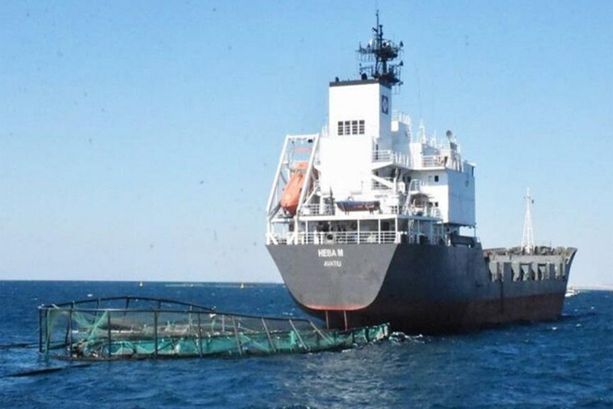 Φορτηγό πλοίο κατέστρεψε ιχθυοκαλλιέργεια στο Αιγαίο – 1 εκατομμύριο ψάρια διέφυγαν! - e-Nautilia.gr   Το Ελληνικό Portal για την Ναυτιλία. Τελευταία νέα, άρθρα, Οπτικοακουστικό Υλικό