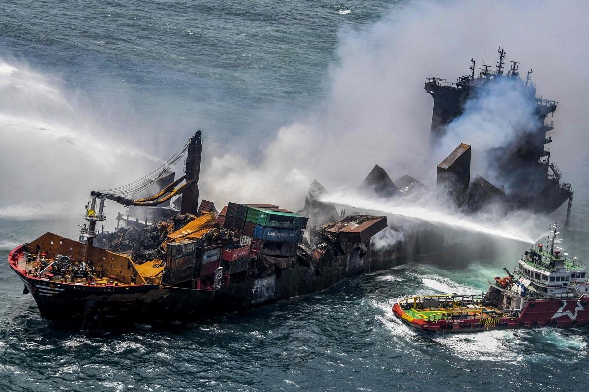 Τον επόμενο μήνα θα ξεκινήσει η επιχείρηση απομάκρυνσης του ναυαγίου του πλοίου X-Press Pearl - e-Nautilia.gr | Το Ελληνικό Portal για την Ναυτιλία. Τελευταία νέα, άρθρα, Οπτικοακουστικό Υλικό