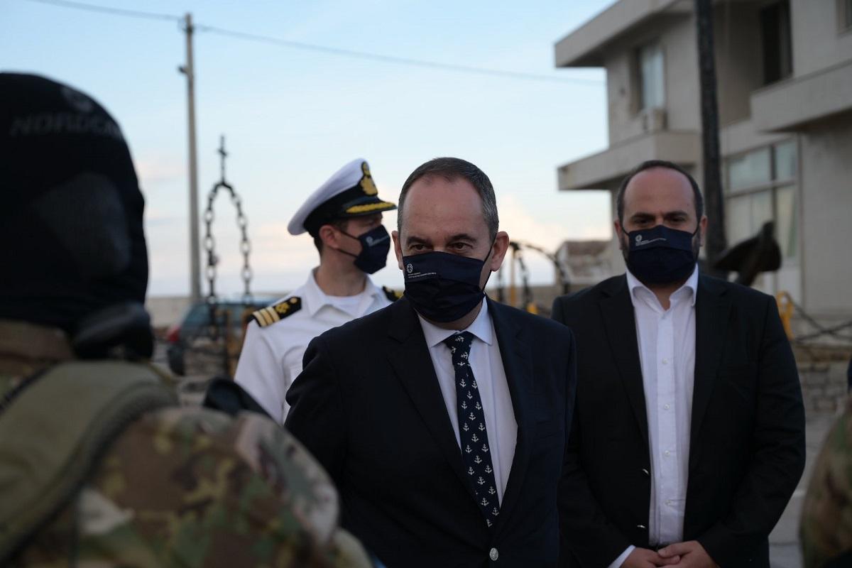 Γ. Πλακιωτάκης: «Όσο και αν δεν αρέσει σε κάποιους, η Ελλάδα θα συνεχίσει να προστατεύει τα σύνορά της» - e-Nautilia.gr   Το Ελληνικό Portal για την Ναυτιλία. Τελευταία νέα, άρθρα, Οπτικοακουστικό Υλικό