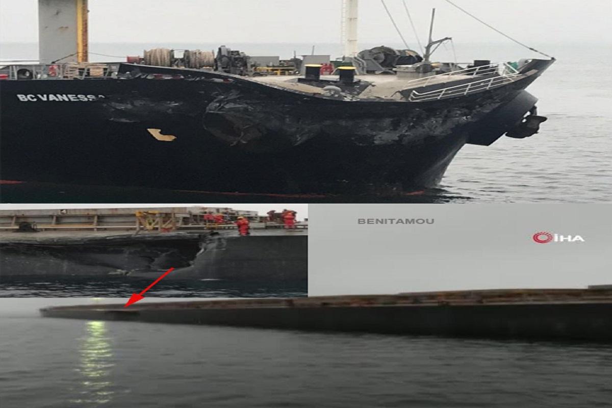 Σύγκρουση φορτηγών πλοίων στη θάλασσα του Μαρμαρά στην Τουρκία – Εισροή υδάτων για το ένα που κινδυνεύει